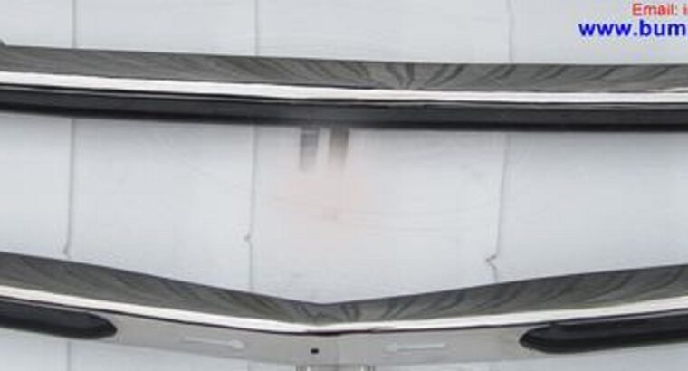 Mercedes W123 Sedan Front and Rear Bumpers